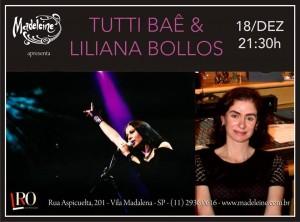 Jazz, dia 18/12/13, quarta-feira,  21:30h no Madeleine Bar (R. Aspicuelta, 201, Vila Madalena, S.Paulo).